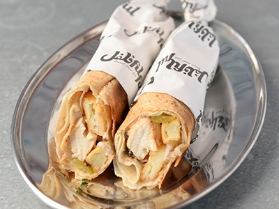 Filful shawarma. Talabat