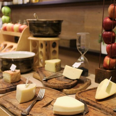 Cheese Room at Flow Kitchen