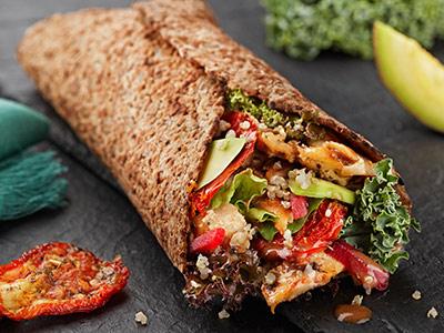 The healthy shawarma from YaSalam. talabat