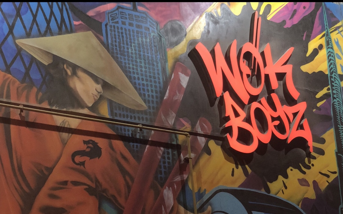 The street food revolution @ Wok Boyz.